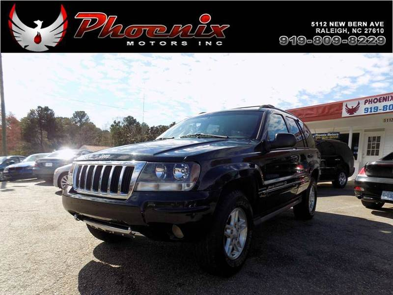 2004 jeep grand cherokee overland in raleigh nc used cars for sale on. Black Bedroom Furniture Sets. Home Design Ideas